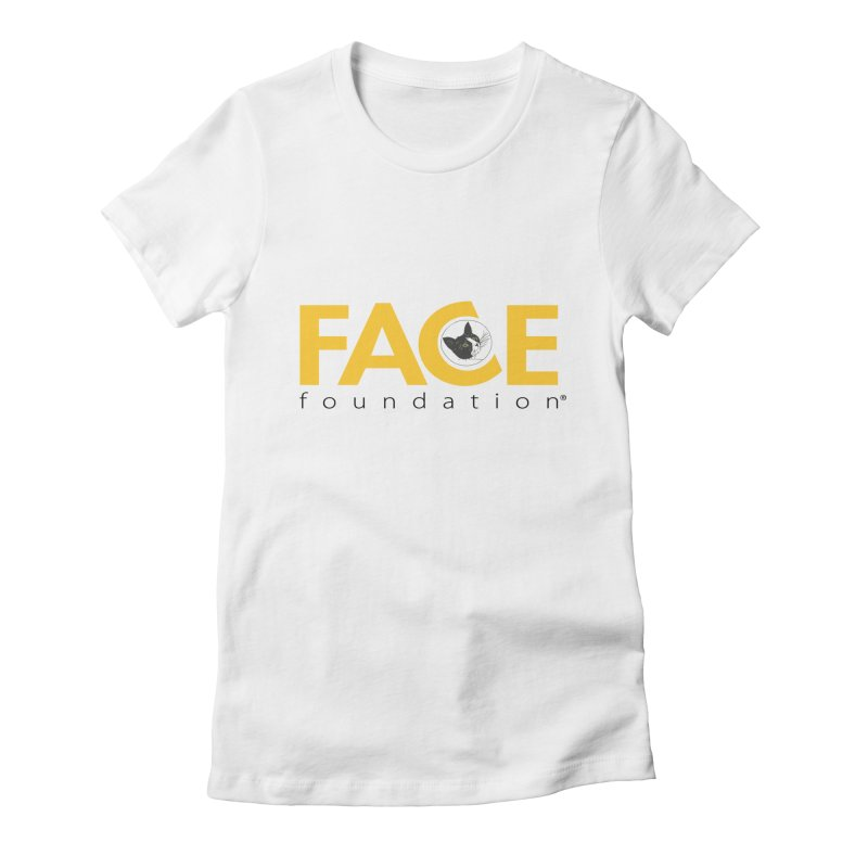 FACE Kitty Logo Women's Fitted T-Shirt by FACE Foundation's Shop