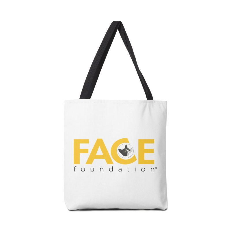 FACE Kitty Logo Accessories Tote Bag Bag by FACE Foundation's Shop