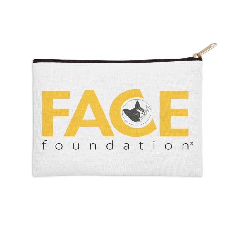 FACE Kitty Logo Accessories Zip Pouch by FACE Foundation's Shop