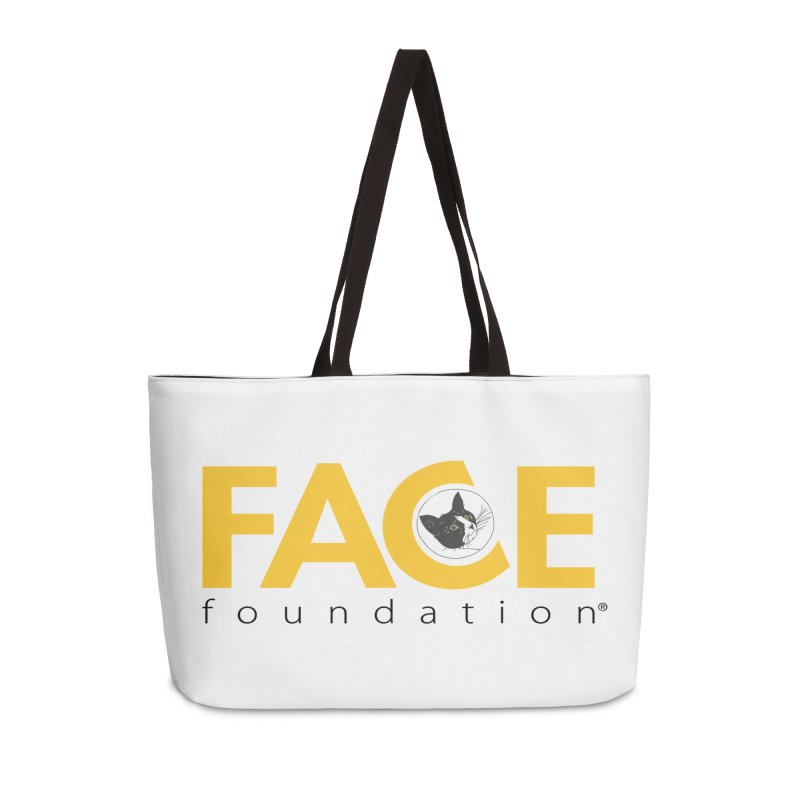 FACE Kitty Logo Accessories Weekender Bag Bag by FACE Foundation's Shop