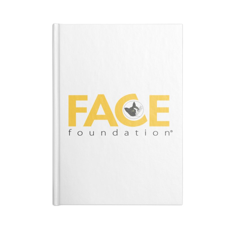 FACE Kitty Logo Accessories Lined Journal Notebook by FACE Foundation's Shop