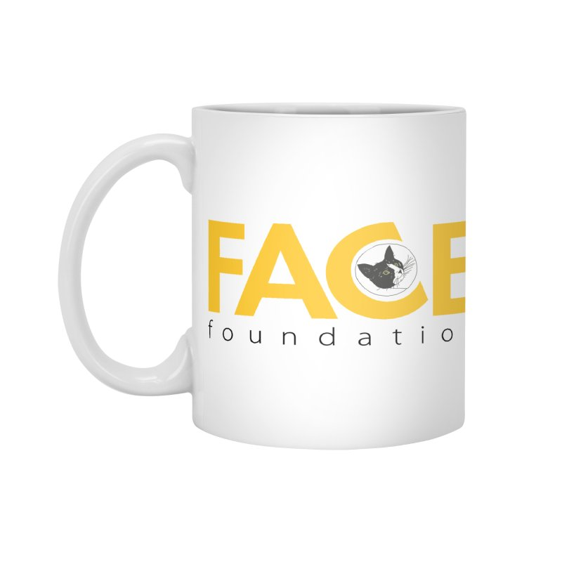 FACE Kitty Logo Accessories Standard Mug by FACE Foundation's Shop