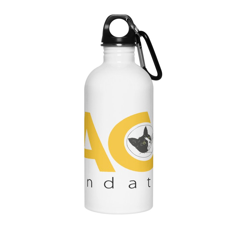 FACE Kitty Logo Accessories Water Bottle by FACE Foundation's Shop