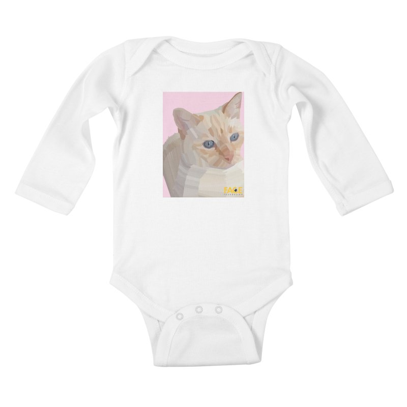 Boo Kids Baby Longsleeve Bodysuit by FACE Foundation's Shop
