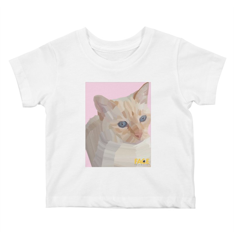 Boo Kids Baby T-Shirt by FACE Foundation's Shop