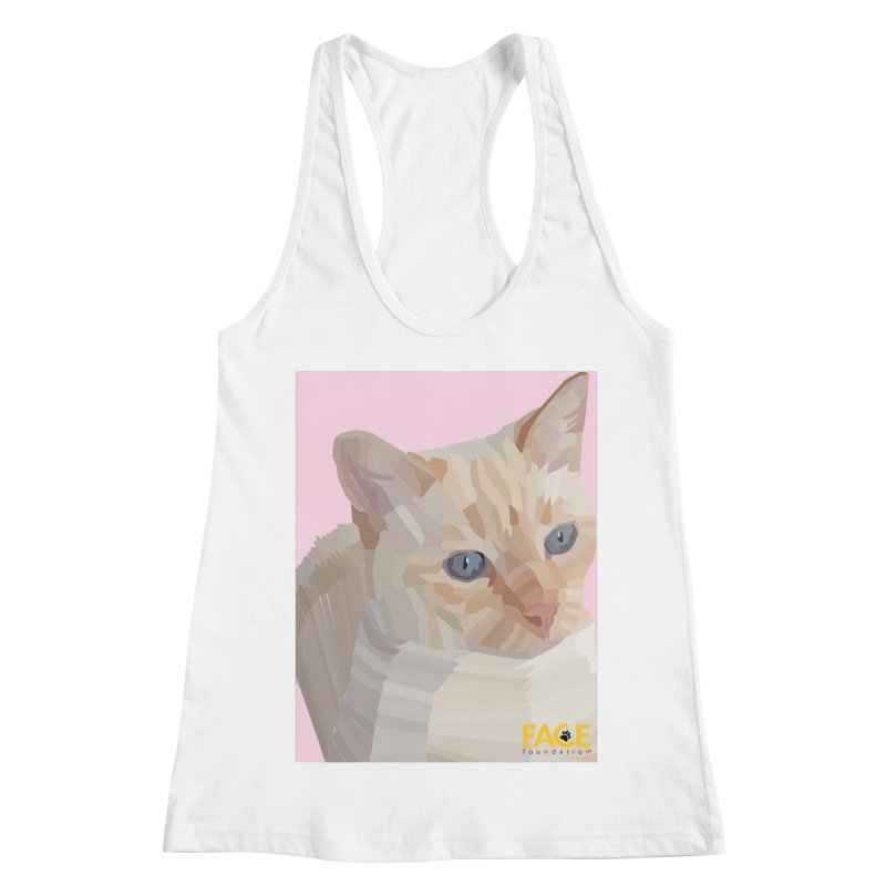 Boo Women's Racerback Tank by FACE Foundation's Shop