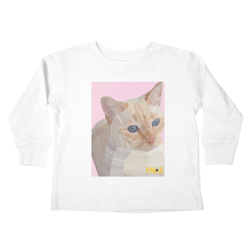 Boo Kids Toddler Longsleeve T-Shirt by FACE Foundation's Shop