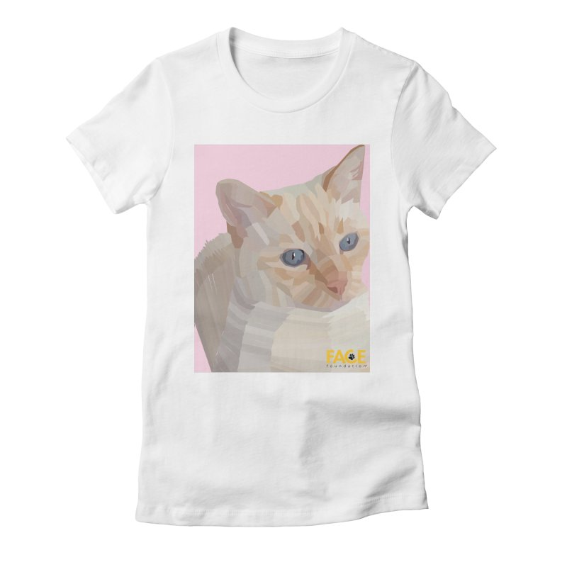 Boo Women's Fitted T-Shirt by FACE Foundation's Shop