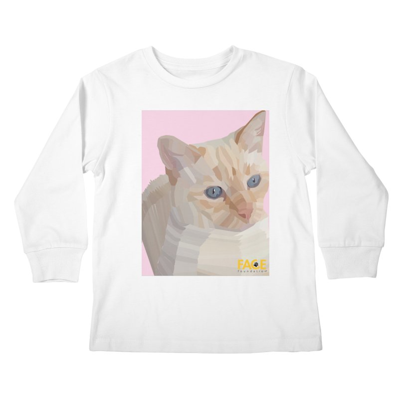 Boo Kids Longsleeve T-Shirt by FACE Foundation's Shop
