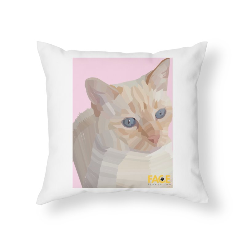 Boo Home Throw Pillow by FACE Foundation's Shop