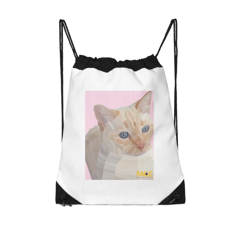 Boo Accessories Drawstring Bag Bag by FACE Foundation's Shop