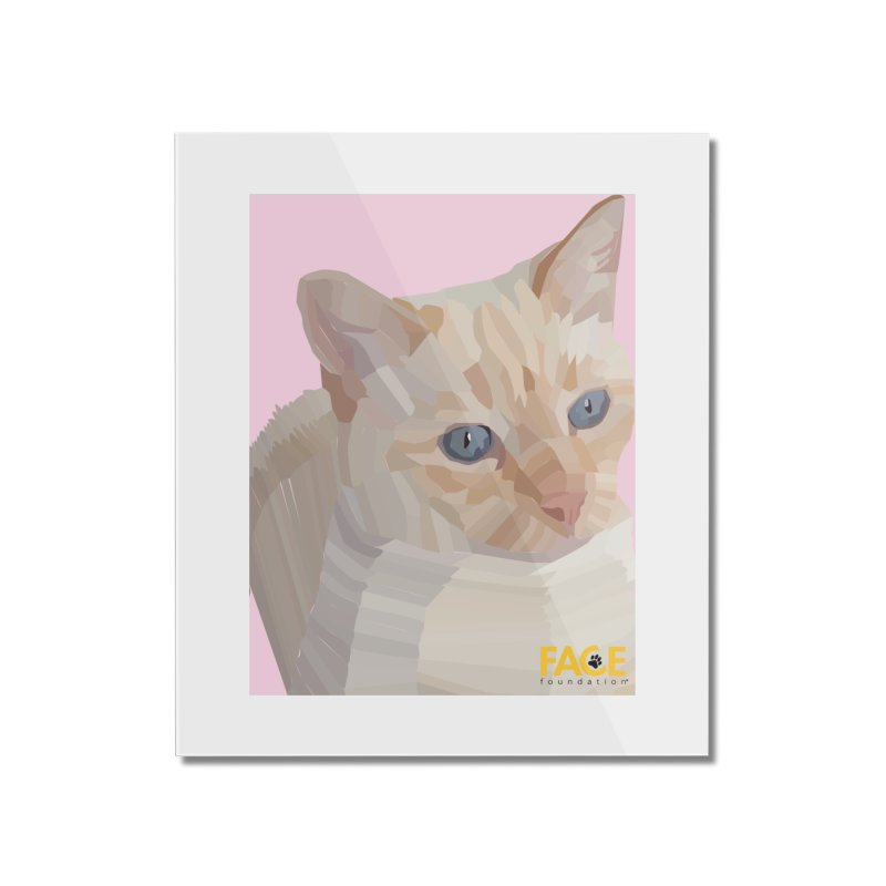 Boo Home Mounted Acrylic Print by FACE Foundation's Shop