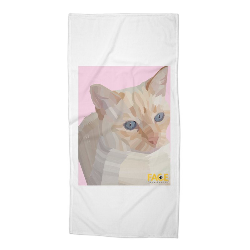 Boo Accessories Beach Towel by FACE Foundation's Shop