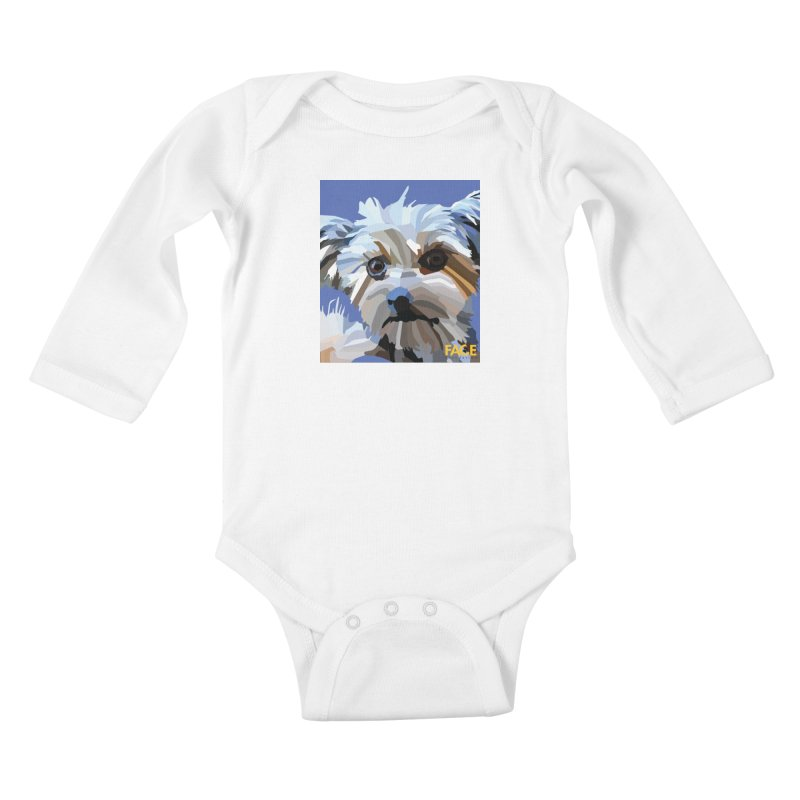 Baby Kids Baby Longsleeve Bodysuit by FACE Foundation's Shop