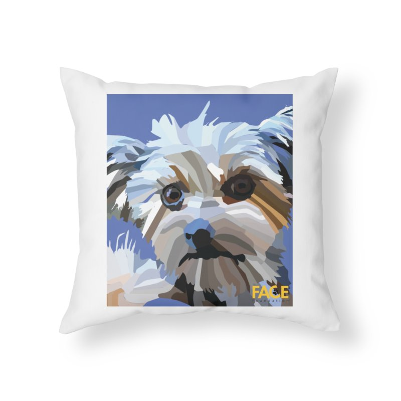 Baby Home Throw Pillow by FACE Foundation's Shop
