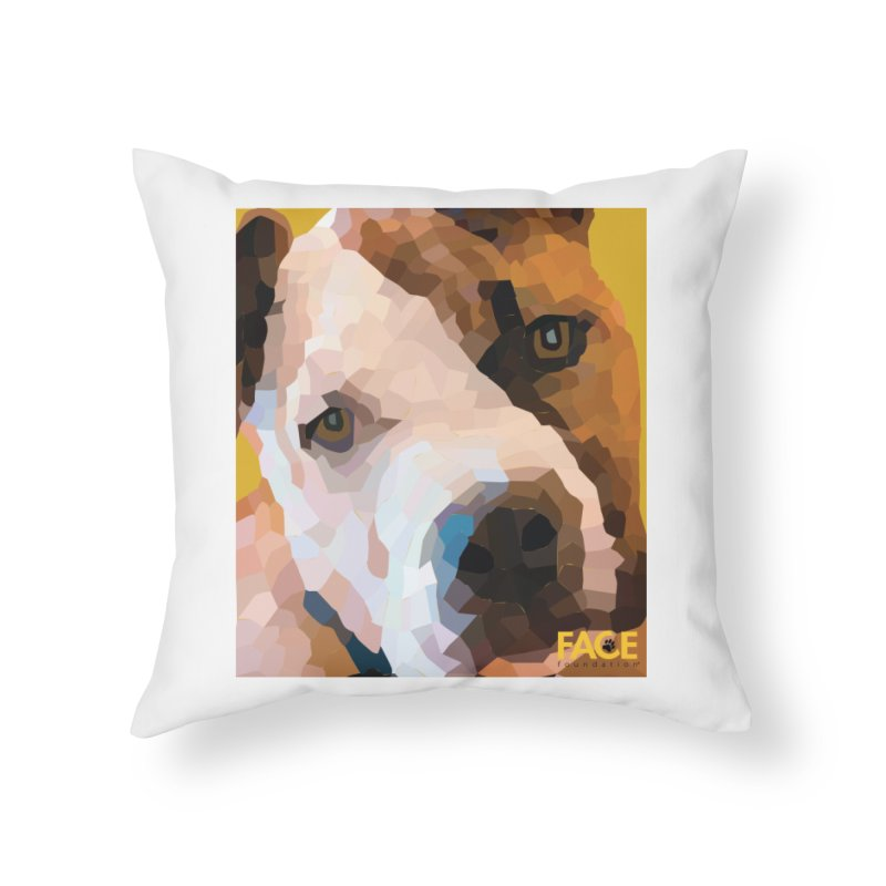 Rebel Home Throw Pillow by FACE Foundation's Shop