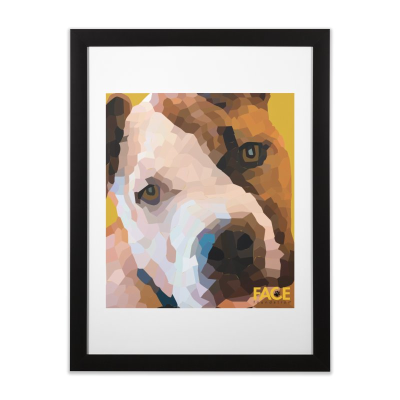 Rebel Home Framed Fine Art Print by FACE Foundation's Shop