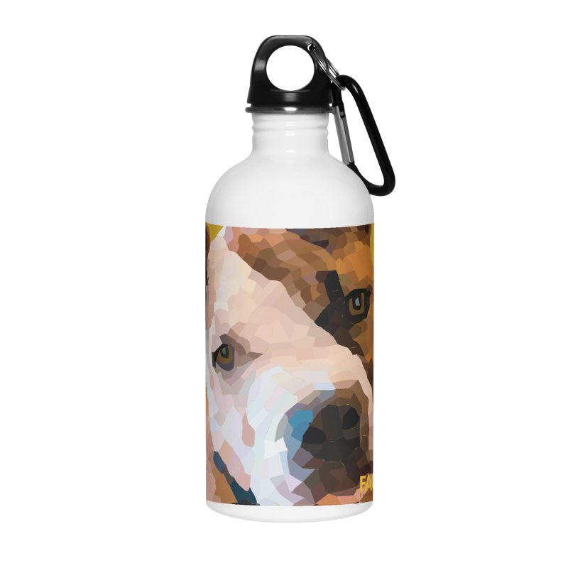 Rebel Accessories Water Bottle by FACE Foundation's Shop