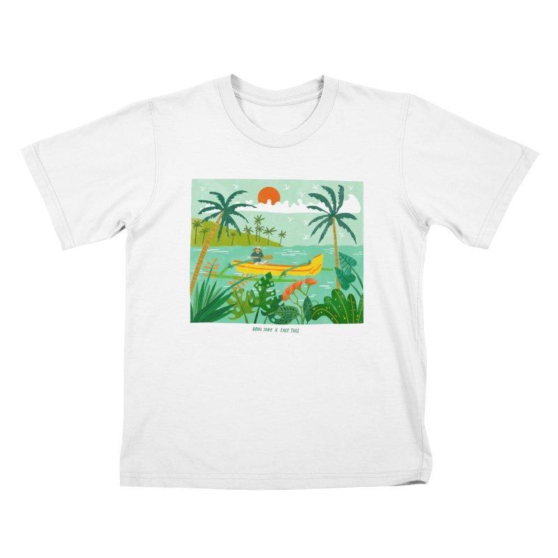 Bodil Jane x Salsabila x Face This T-shirt Kids T-Shirt by Face This T-shirts