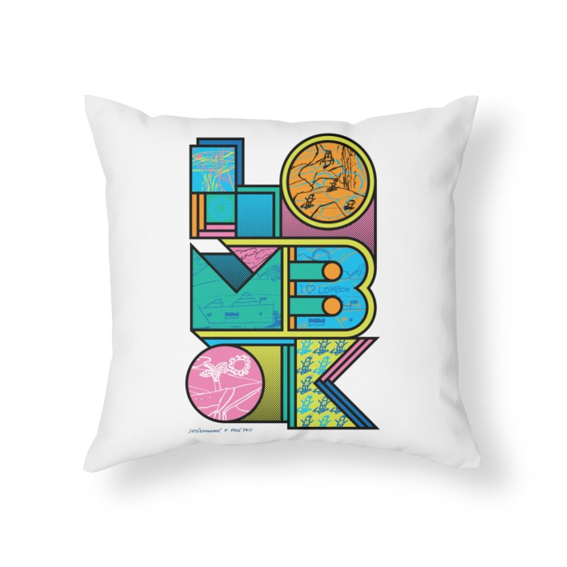 Supermundane x Hafiz x Face This T-shirts Home Throw Pillow by Face This T-shirts