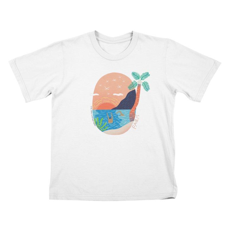 Mark Conlan x Faris x Face This T-shirts Kids T-Shirt by Face This T-shirts
