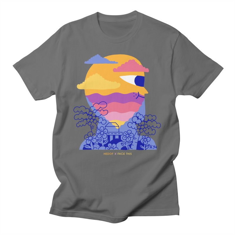 Hedof x Ayu x Face This T-shirts Men's T-Shirt by Face This T-shirts