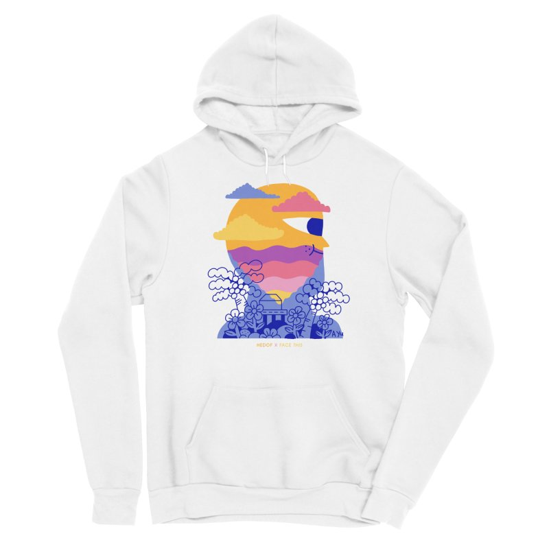 Hedof x Ayu x Face This T-shirts Men's Pullover Hoody by Face This T-shirts