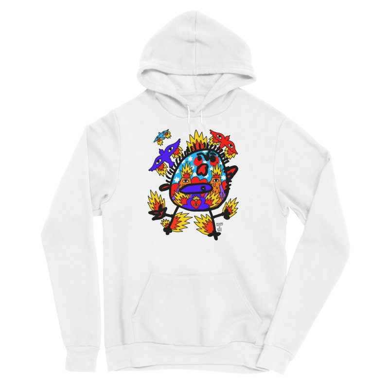 Ricardo Cavolo x Face This T-shirt Women's Pullover Hoody by Face This T-shirts