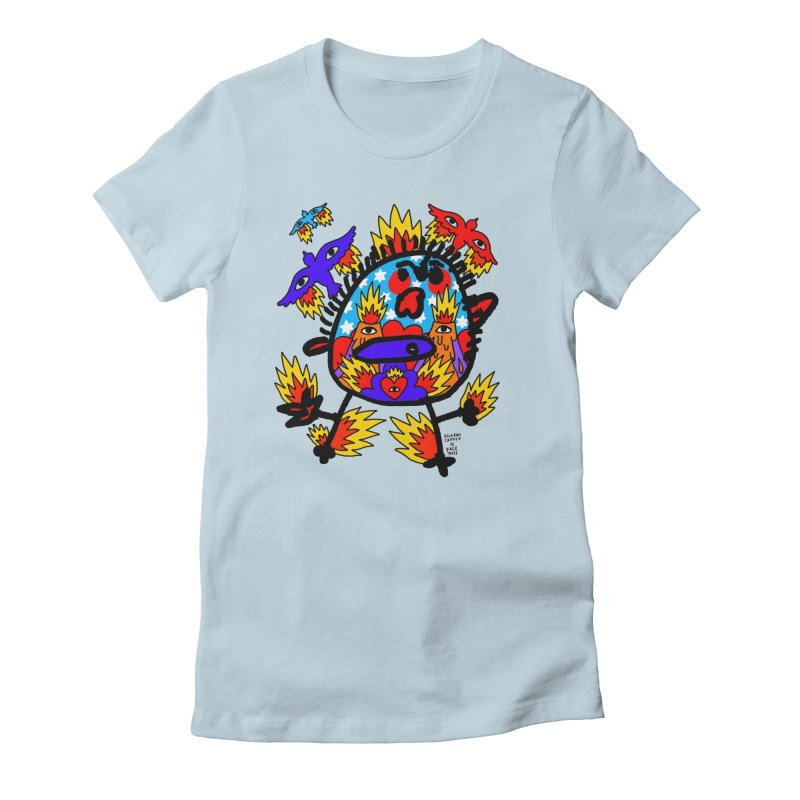 Ricardo Cavolo x Face This T-shirt Women's T-Shirt by Face This T-shirts