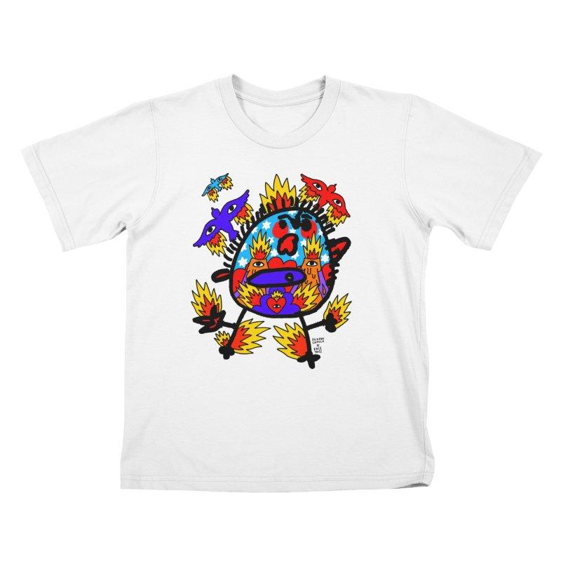 Ricardo Cavolo x Face This T-shirt Kids T-Shirt by Face This T-shirts