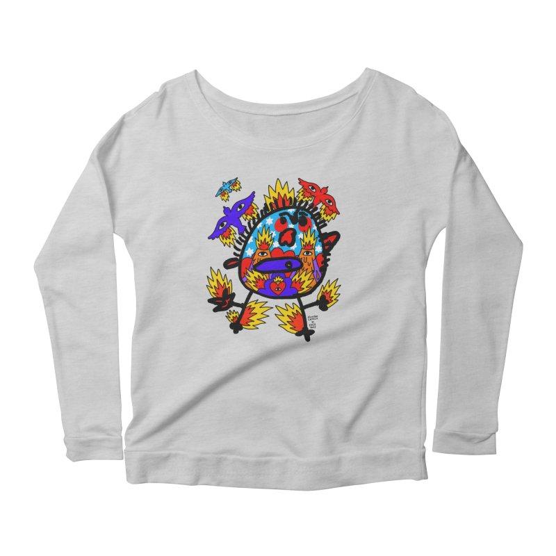 Ricardo Cavolo x Face This T-shirt Women's Longsleeve T-Shirt by Face This T-shirts