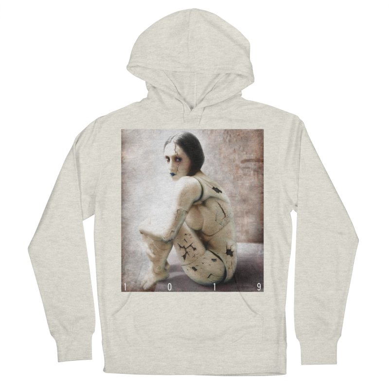1019 DISCARDED PLEASURE MODEL Women's French Terry Pullover Hoody by Factory1019's Artist Shop