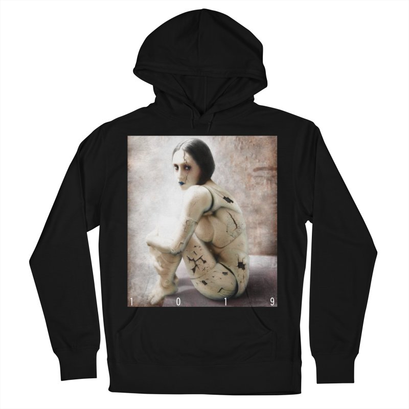 1019 DISCARDED PLEASURE MODEL Men's French Terry Pullover Hoody by Factory1019's Artist Shop