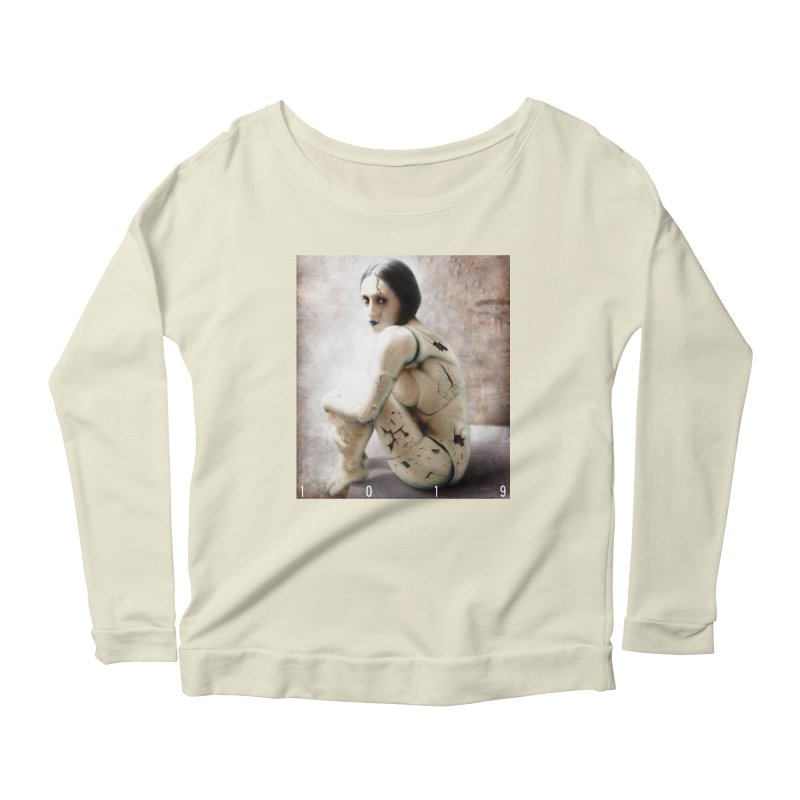 1019 DISCARDED PLEASURE MODEL Women's Longsleeve Scoopneck  by Factory1019's Artist Shop