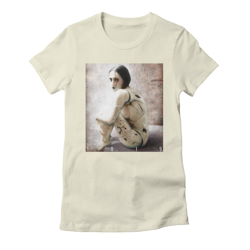 1019 DISCARDED PLEASURE MODEL Women's Fitted T-Shirt by Factory1019's Artist Shop