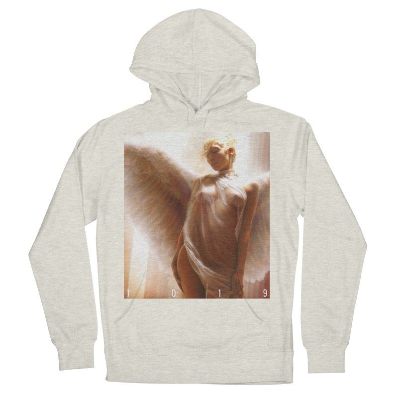 1019 HEAVEN ON EARTH Men's French Terry Pullover Hoody by Factory1019's Artist Shop