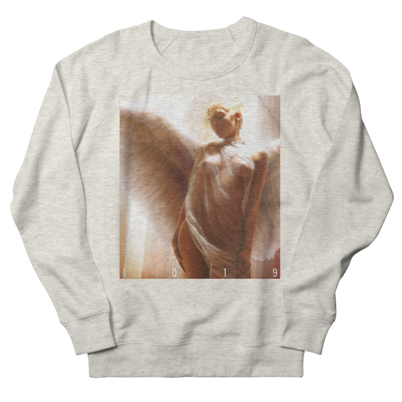 1019 HEAVEN ON EARTH Women's French Terry Sweatshirt by Factory1019's Artist Shop