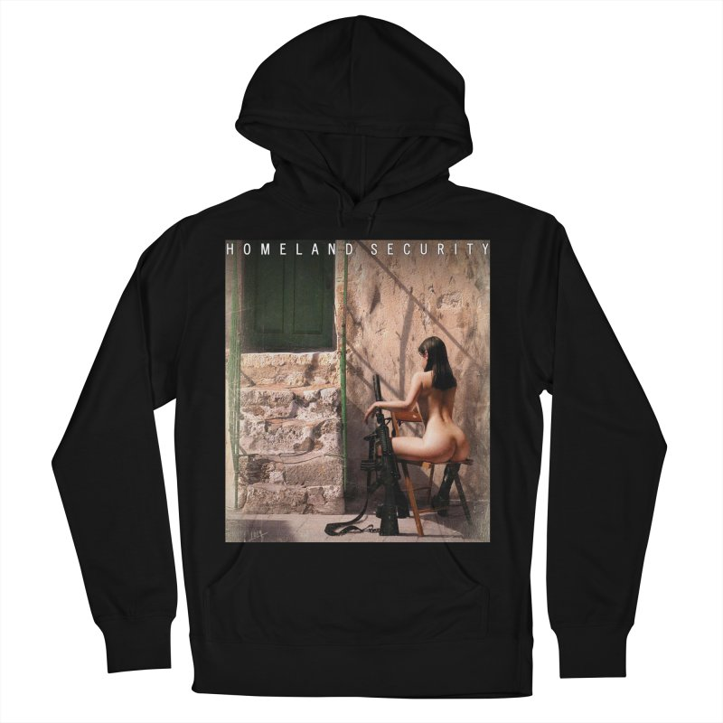 HOMELAND SECURITY Men's French Terry Pullover Hoody by Factory1019's Artist Shop