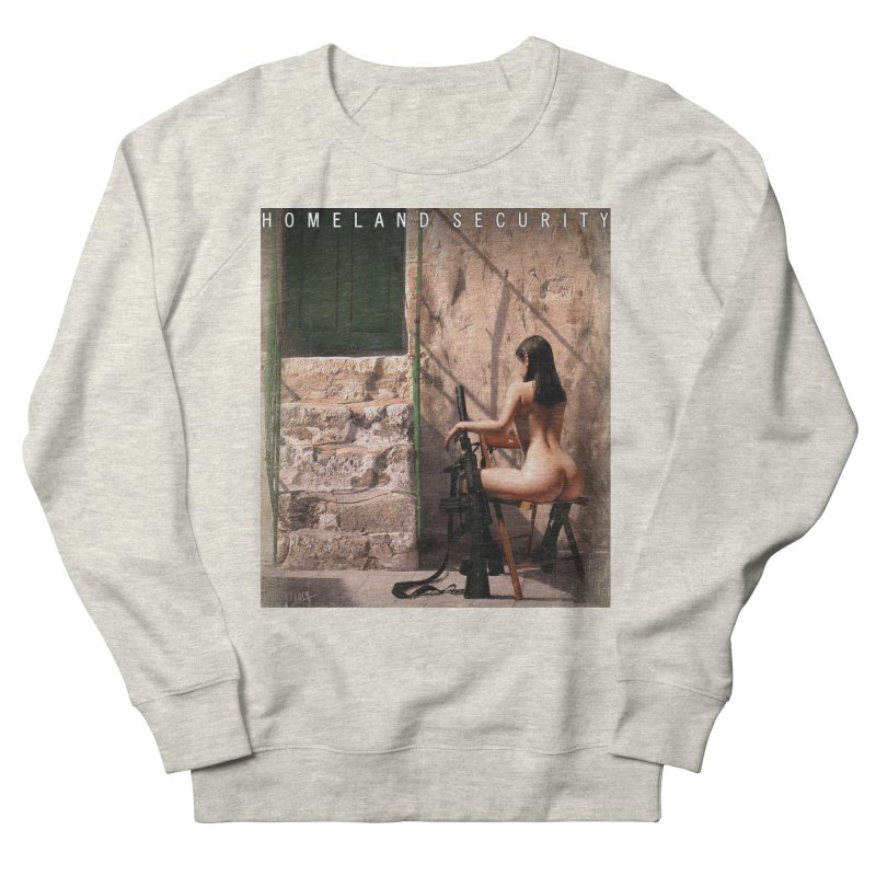 HOMELAND SECURITY Men's French Terry Sweatshirt by Factory1019's Artist Shop