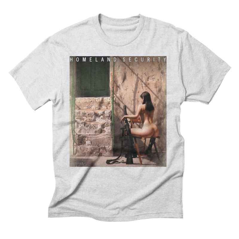 HOMELAND SECURITY Men's Triblend T-shirt by Factory1019's Artist Shop