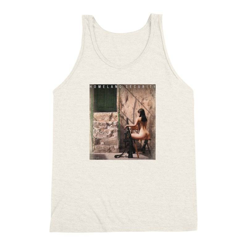 HOMELAND SECURITY Men's Triblend Tank by Factory1019's Artist Shop