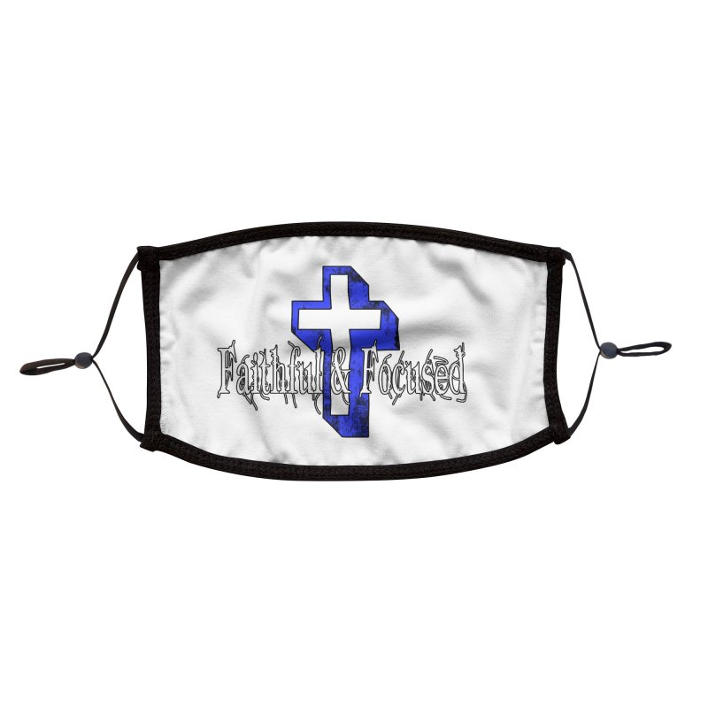 Blue Cross Accessories Face Mask by Faithful & Focused Store