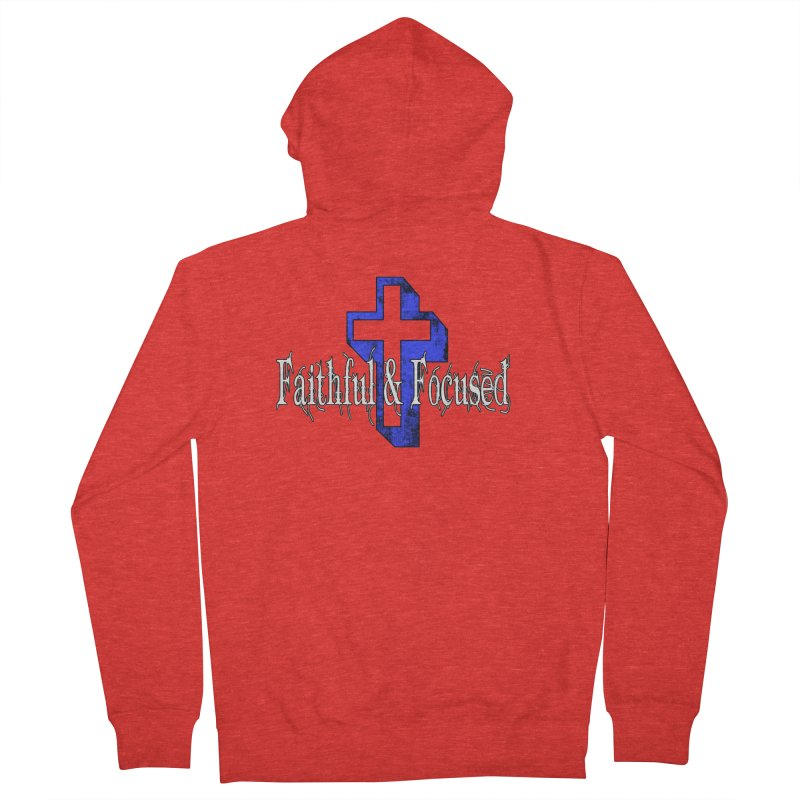Blue Cross Women's Zip-Up Hoody by Faithful & Focused Store