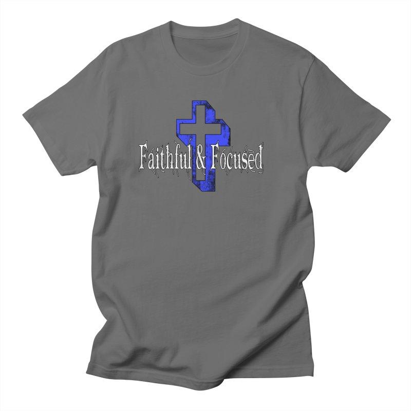Blue Cross Women's T-Shirt by Faithful & Focused Store