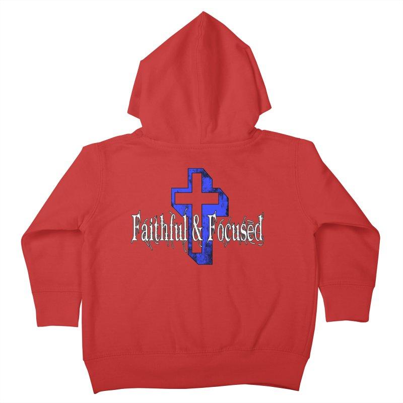 Blue Cross Kids Toddler Zip-Up Hoody by Faithful & Focused Store