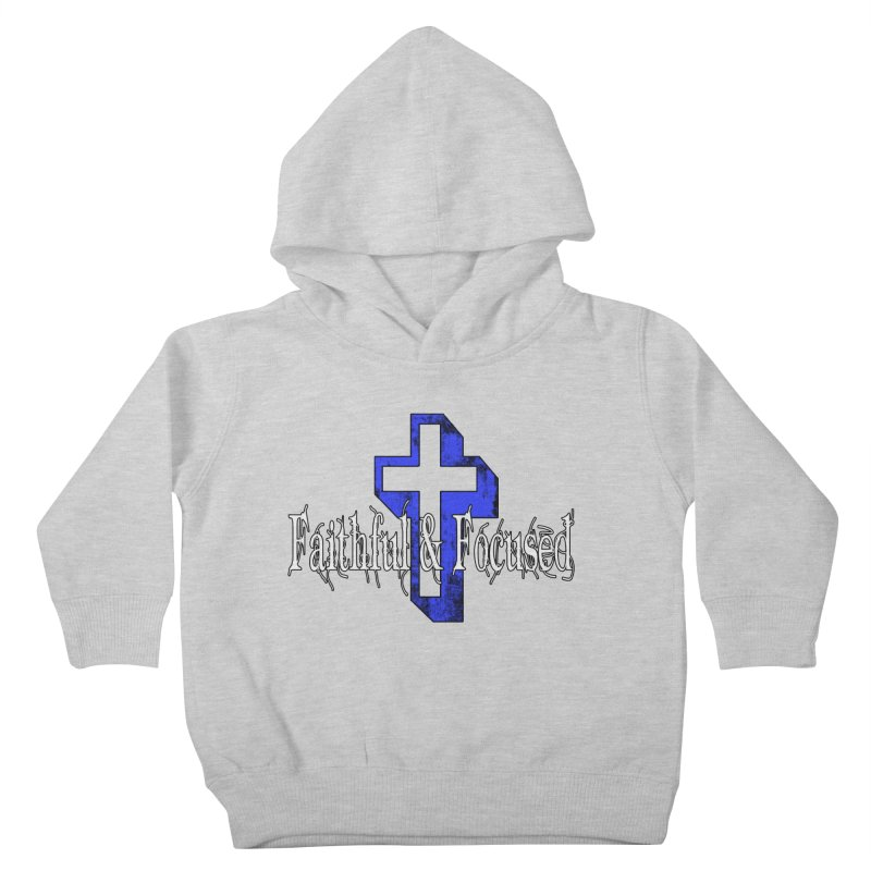 Blue Cross Kids Toddler Pullover Hoody by Faithful & Focused Store