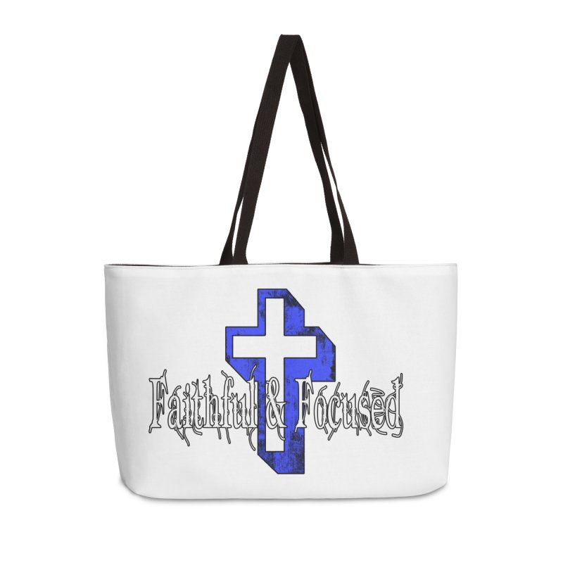 Blue Cross Accessories Bag by Faithful & Focused Store