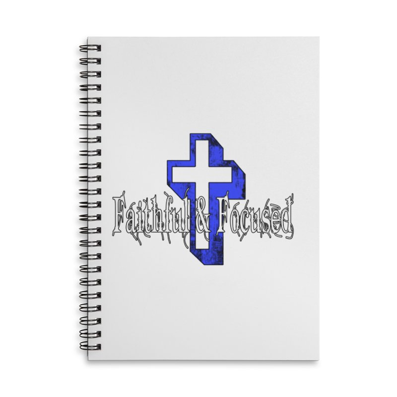 Blue Cross Accessories Notebook by Faithful & Focused Store