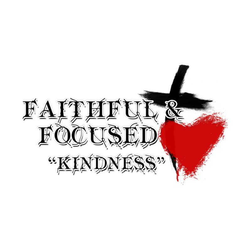 FAITHFUL HEART Kids T-Shirt by Faithful & Focused Store