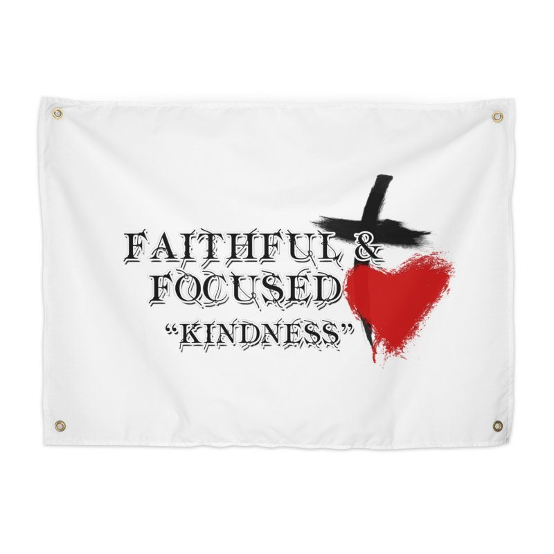 FAITHFUL HEART Home Tapestry by Faithful & Focused Store
